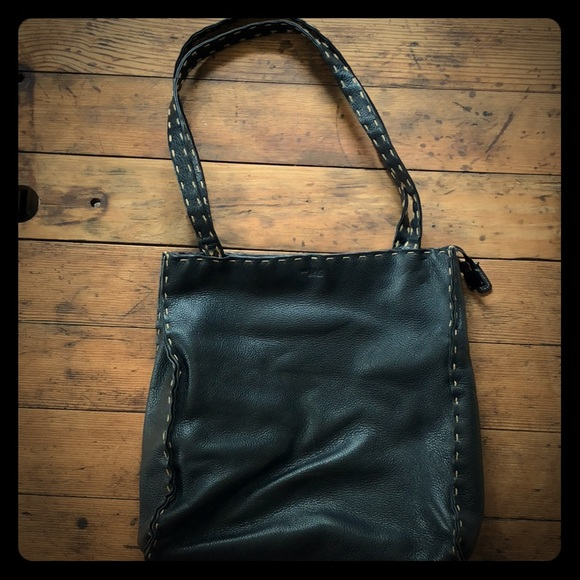 The Sak Handbags - The Sak Small Black Zippered Tote